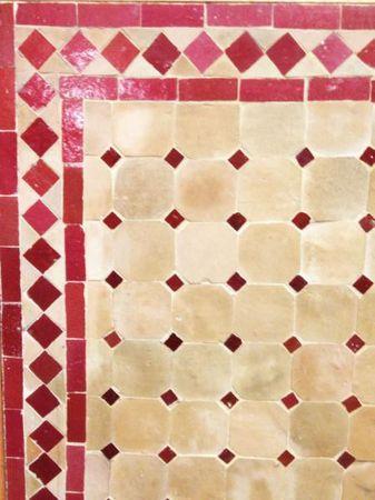 Mosaic Table Marrakesch Nature/ Blue, 120x80cm – image 2