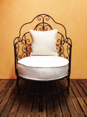 Orient Armchair Andalous - White – image 1
