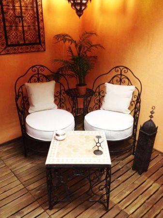 Orient Armchair Andalous - White – image 4