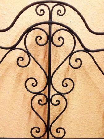Moroccan Iron Sofa Andalous - White – image 2