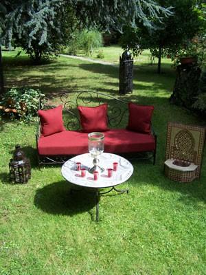 Oriental Iron Sofa Murcia - Bordaux – image 3