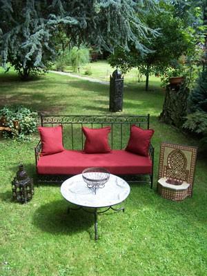 Oriental Iron Sofa Bilbao - Bordeaux – image 2