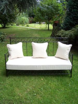 Moroccan Iron Sofa Bilbao - White – image 3