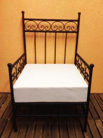 Oriental Armchair Bilbao - White – image 1