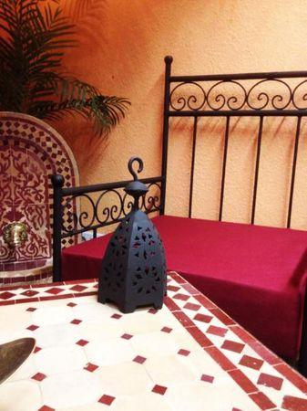 Oriental Armchair Bilbao - Bordeaux – image 2