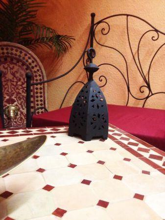 Moroccan Armchair Murcia - Bordeaux – image 2
