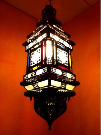 Moroccan Ceiling Lamp Reina – image 2