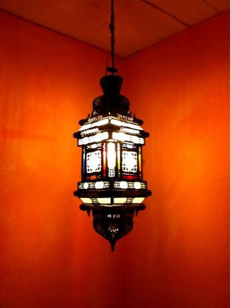 Moroccan Ceiling Lamp Reina – image 3