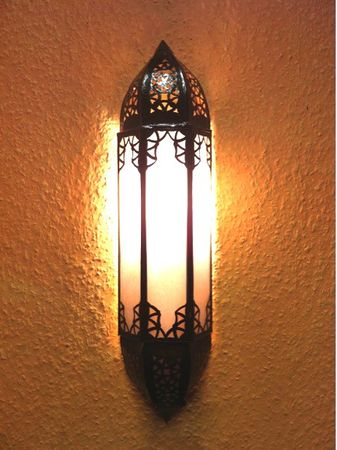 Oriental Wall Light Doha white – image 1