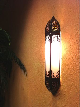Oriental Wall Light Doha white – image 2