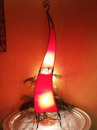 Floor Lamp Merla Red 120cm – image 3