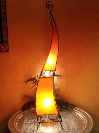 Floor Lamp Merla Orange 120cm – image 3