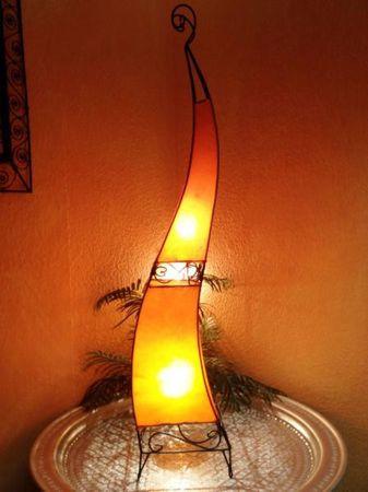 Floor Lamp Merla Orange 120cm – image 3