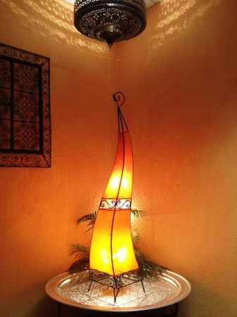 Floor Lamp Merla Orange 120cm – image 4