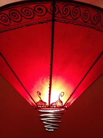 Ceiling Lamp Abla Red – image 3