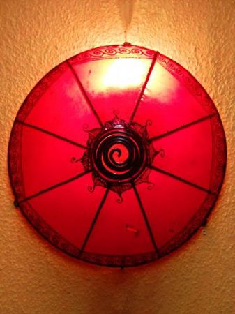 Ceiling Lamp Abla Red – image 5