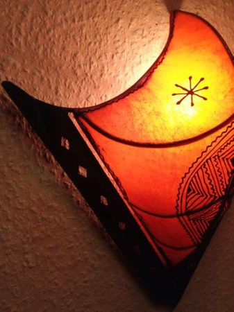 Oriental Wall Lamp Furat Orange – image 4