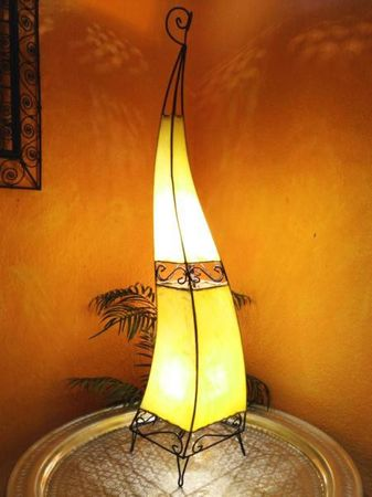 Floor Lamp Merla Yellow 120cm – image 1