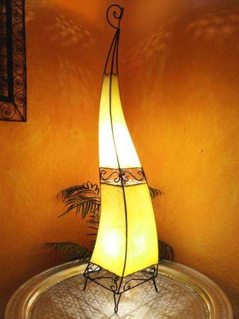 Floor Lamp Merla Yellow 120cm – image 1