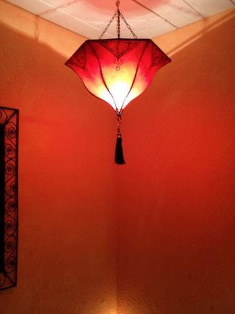 Ceiling Lamp Ayla Red – image 3