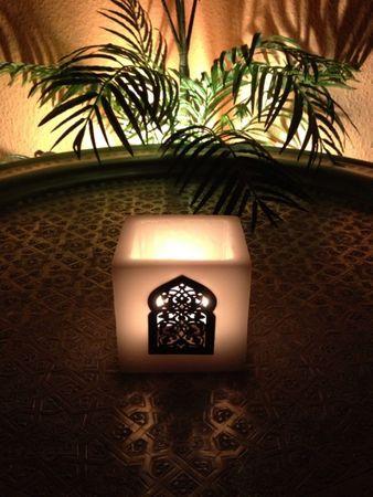 Lantern Defne white 10cm – image 4