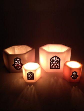 Lantern Daima white 11cm – image 2