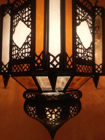 Moroccan oriental Lamp Askin orange – image 2