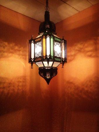 Moroccan Ceiling Lamp Askin multi – image 4