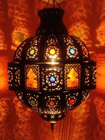 Moroccan Ceiling Light Fanan – image 1