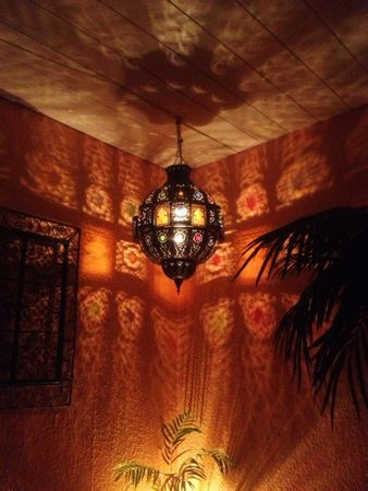Moroccan Ceiling Light Fanan – image 4
