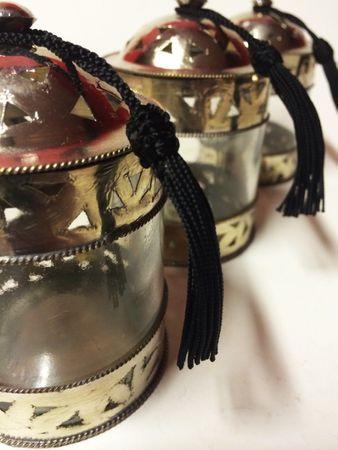 Oriental Brass sugar box Berfin – image 3
