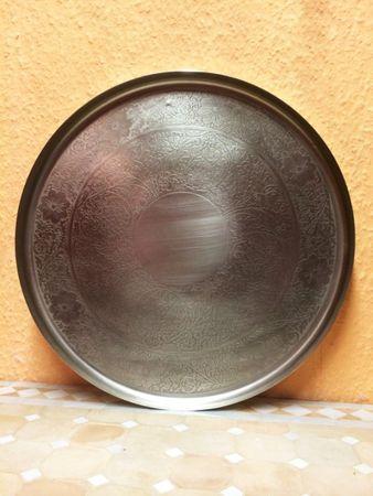 Oriental Silver Platter Anjali 37cm – image 3
