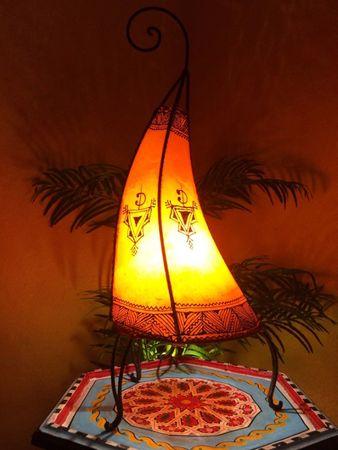 Floor Lamp Nouf orange 60cm – image 1