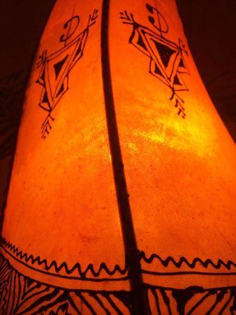 Floor Lamp Nouf orange 60cm – image 3