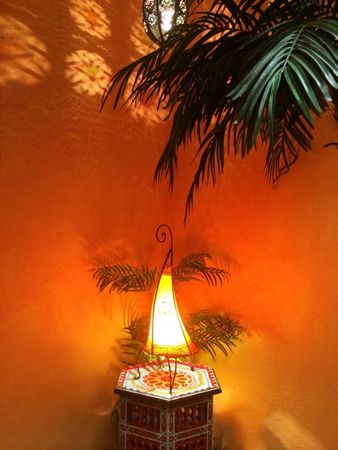 Floor Lamp Nouf orange 60cm – image 4