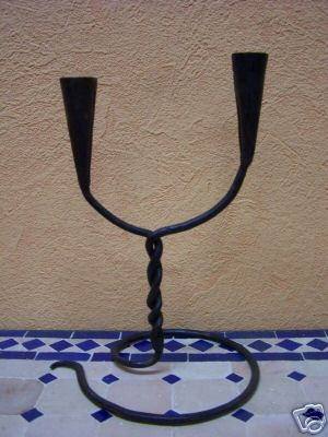 Oriental Candle Holder Snake – image 1