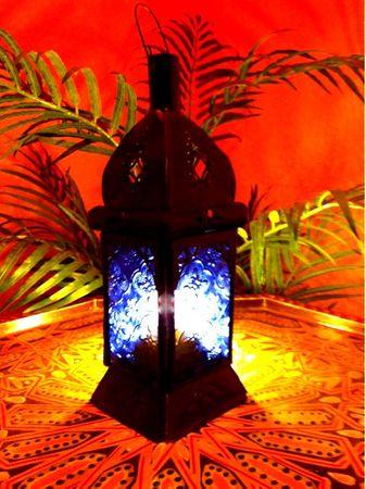Oriental Lantern Talba blue