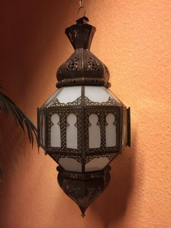 Moroccan Ceiling Lamp Sehrazat White – image 5