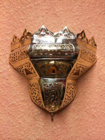 Oriental brass Wall Lamp Afrah – image 5