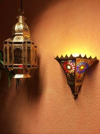 Oriental brass Wall Lamp Handan – image 2