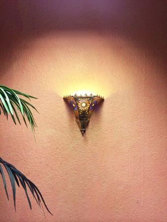 Oriental brass Wall Lamp Handan – image 3