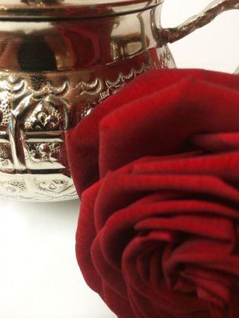 Oriental Brass sugar bowl Afsana – image 3