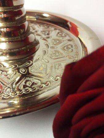 Oriental Brass incense burner Hazar – image 3
