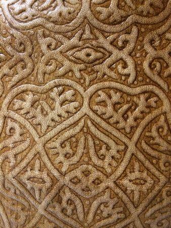 Oriental Leather Seat Cushion Abrar - 35cm – image 4