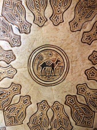 Oriental Leather Seat Cushion Balsam - 50cm – image 3