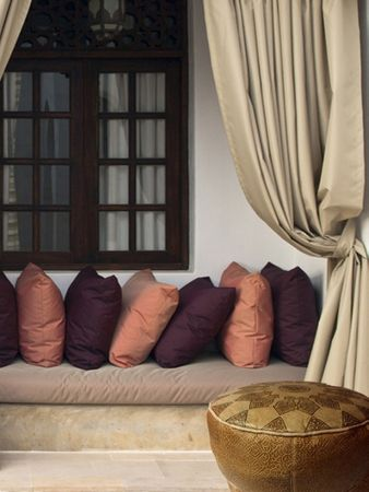 Oriental Leather Seat Cushion Balsam - 50cm – image 5