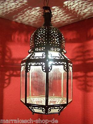 Mediterranean Ceiling Light Haifa Clear – image 1