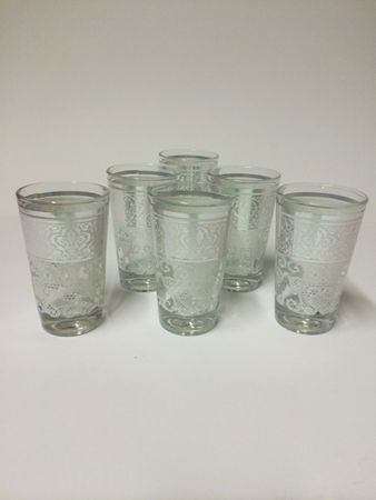 6x Moroccan Tea Glass Tutku (various colors) – image 1