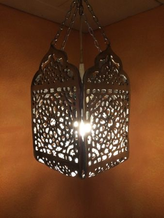 Morrocan Silver Lamp Hibah – image 1