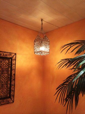 Morrocan Silver Lamp Hibah – image 2